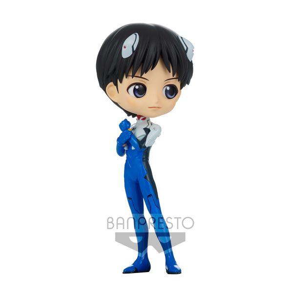 Shinji Ikari Plugsuit Figure Rebuild of Evangelion Q Posket