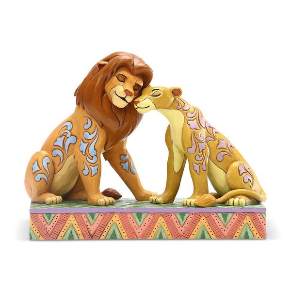 Figura Simba & Nala El Rey León Disney