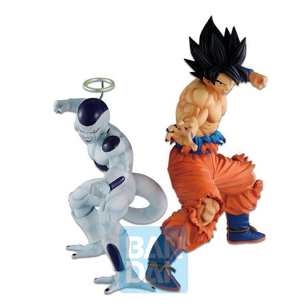 Son Goku and Freezer Figure Dragon Ball Z Ichibansho Vs Omnibus Z