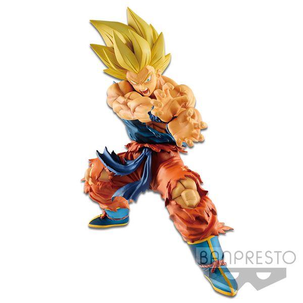 Son Goku SSJ Kamehameha Figure Dragon Ball Legends Collab