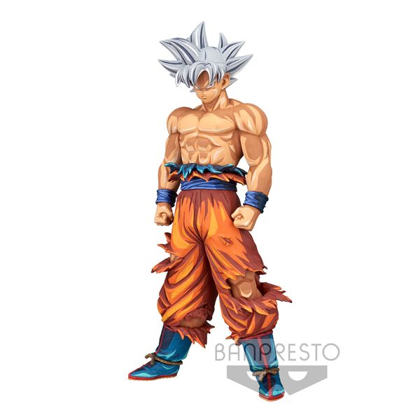 Son Goku Ultra Instinct Figure Manga Dimensions Dragon Ball Super Grandista