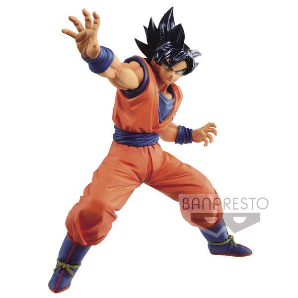 Figura Son Goku Ultra Instinct Sign Dragon Ball Super Maximatic
