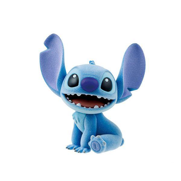 Figura Stitch Disney Characters Fluffy Puffy Lilo y Stitch