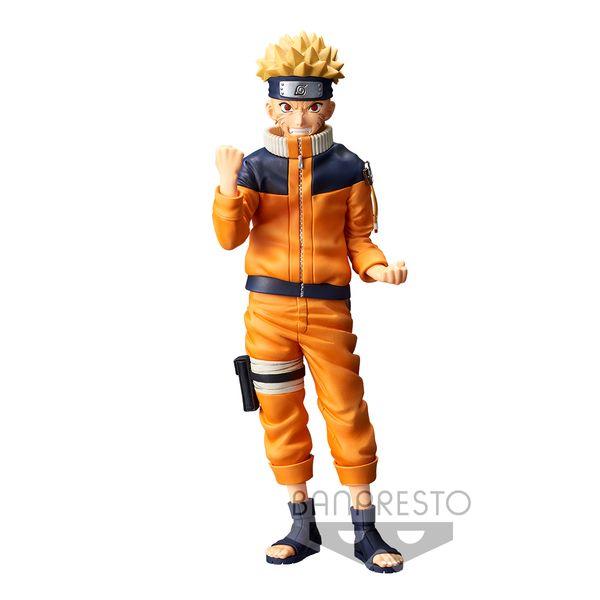 Uzumaki Naruto Figure Naruto Grandista Nero