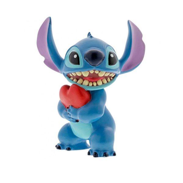 Figura Stitch Corazon Lilo & Stitch Disney