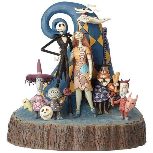 Figura Pesadilla antes de Navidad Jack & Sally & Niños Jim Shore Disney Traditions