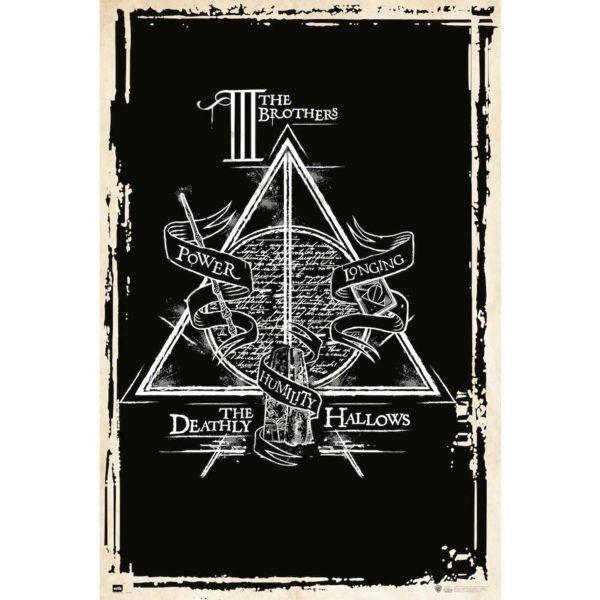 Poster Harry Potter Reliquias De La Muerte Simbolo