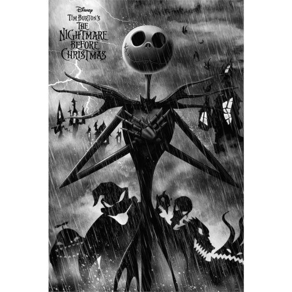Poster Jack Skellington Nightmare Before Christmas 91,5 x 61 cms