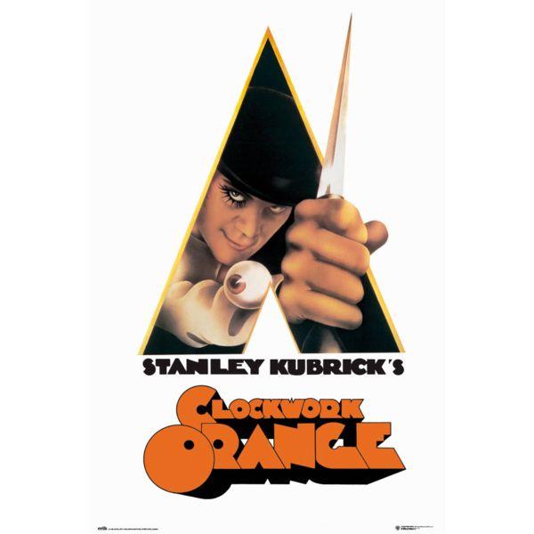 Classic Clockwork Orange Poster 91.5 x 61 cms