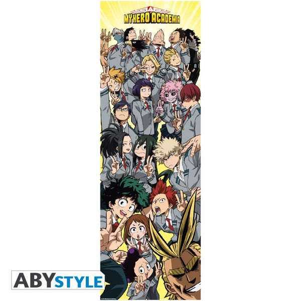 Poster My Hero Academia Clase 1-A 53 x 158 cm
