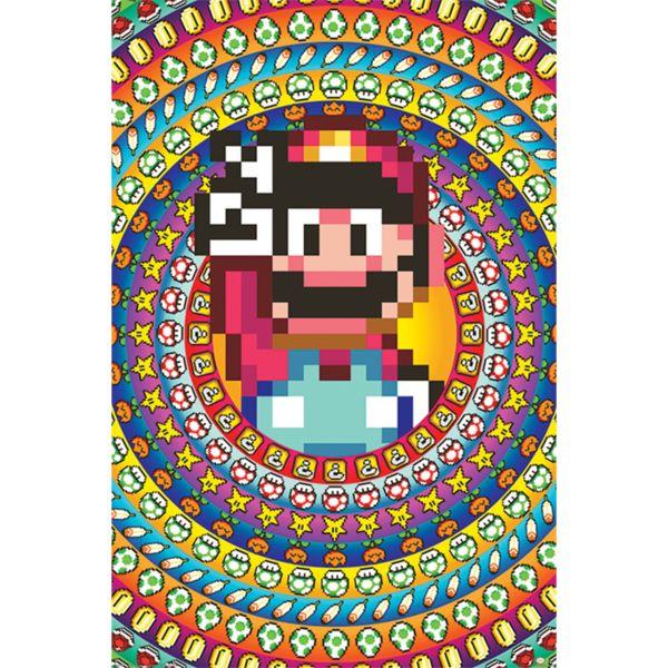 Poster Super Mario Power Ups Nintento 91,5 x 61 cms