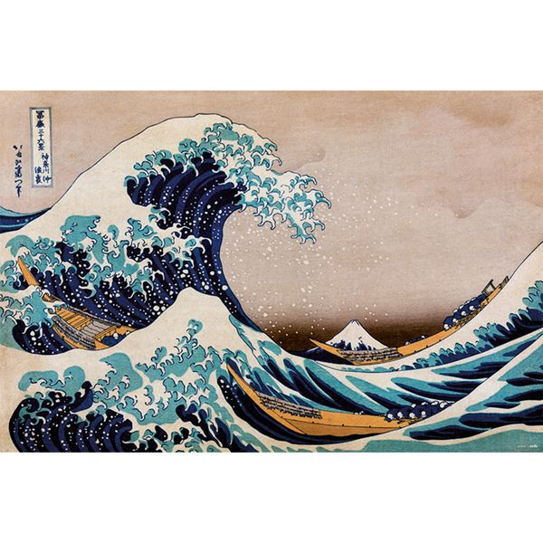 Poster The Great Wave Off Kanagawa 91,5 x 61 cms