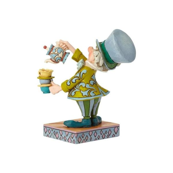 Figura Sombrerero Loco Alicia en el Pais de las maravillas Jim Shore Disney Traditions