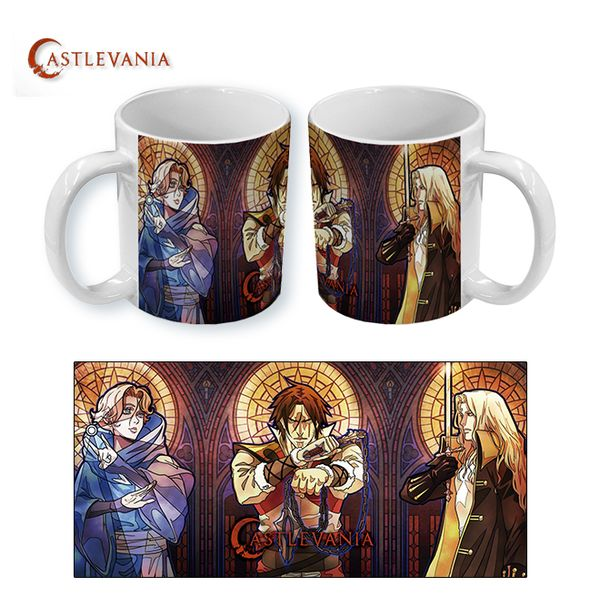 Taza Castlevania Mosaic