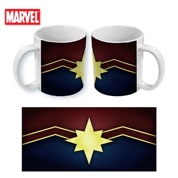 Taza Marvel Comics Captain Marvel