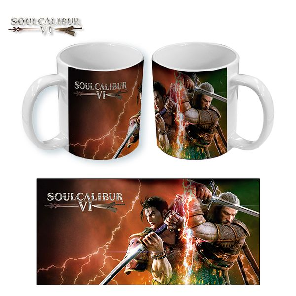 Taza Soul Calibur 6 Cover