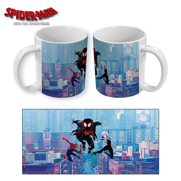 Taza Spiderman Into the Spider Verse