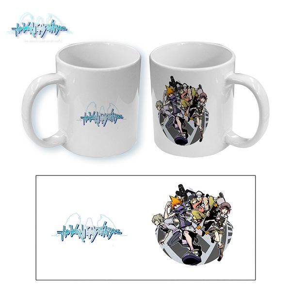 Taza The World Ends With You Group