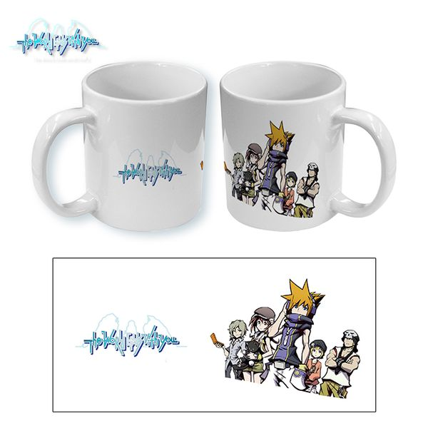 Taza The World Ends With You Group 02