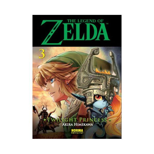 The Legend of Zelda  Twilight Princess #03 Manga Oficial Norma Editorial