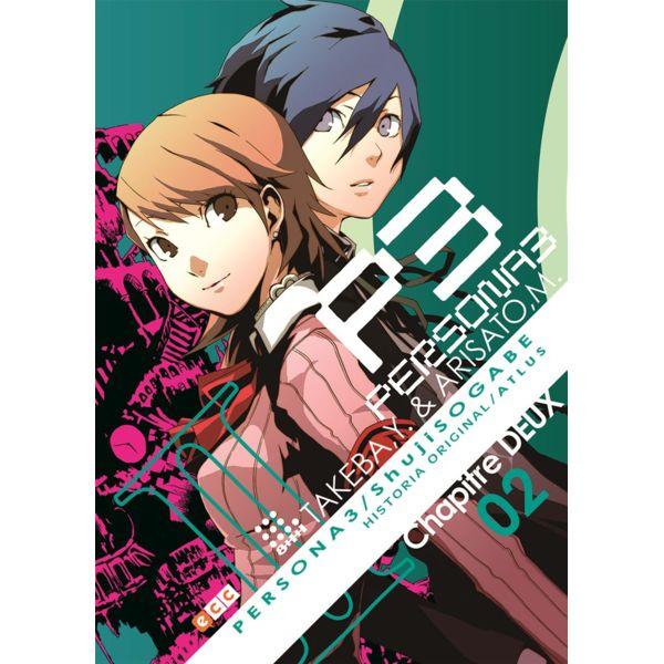 Persona 3 #02 (spanish) Manga Oficial ECC Ediciones