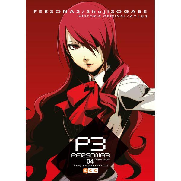 Persona 3 #04 Manga Oficial ECC Ediciones