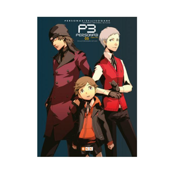 Persona 3 #05 Manga Oficial ECC Ediciones