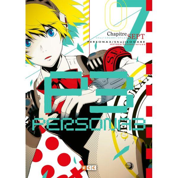 Persona 3 #07 Manga Oficial ECC Ediciones