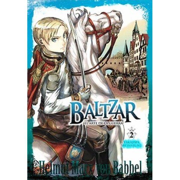 Baltzar el arte de la guerra #02 Manga Oficial Arechi Manga