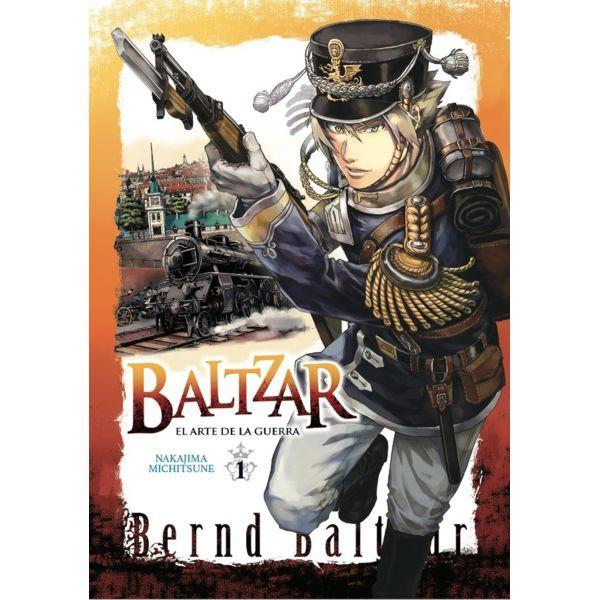 Baltzar el arte de la guerra #01 Manga Oficial Arechi Manga