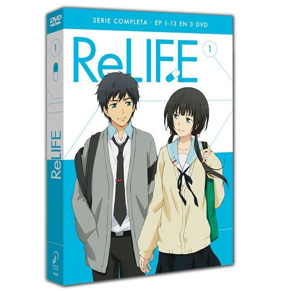 Re-Life Serie Completa DVD