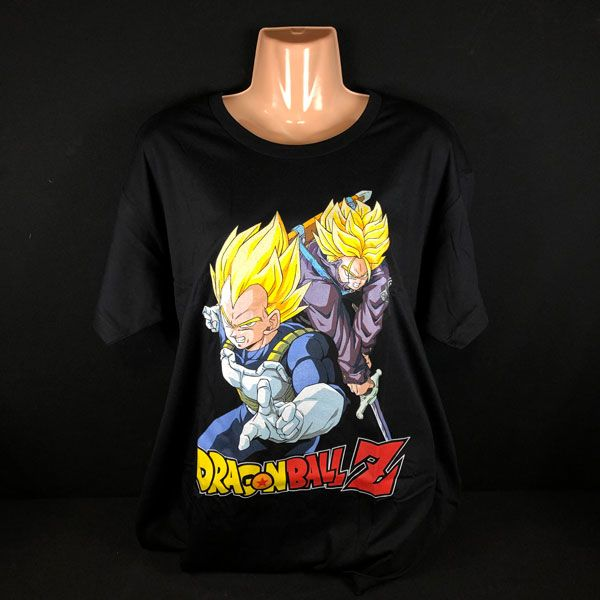 Camiseta Vegeta SS y Trunks SS Dragon Ball Z