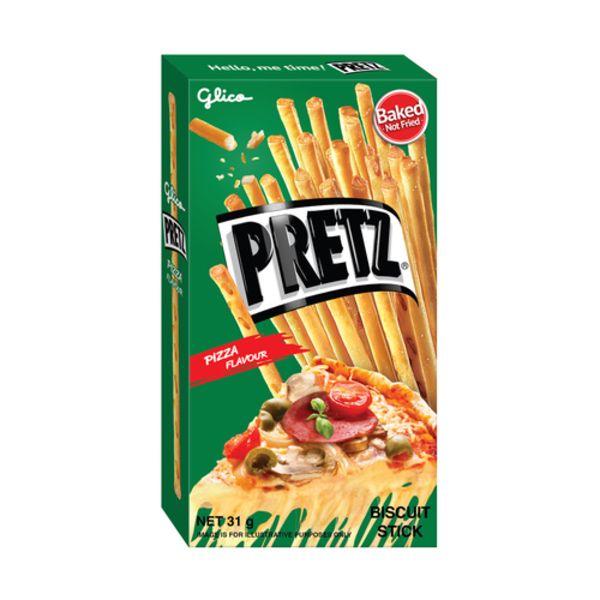 Pizza Flavor Pretz Sticks 65gr