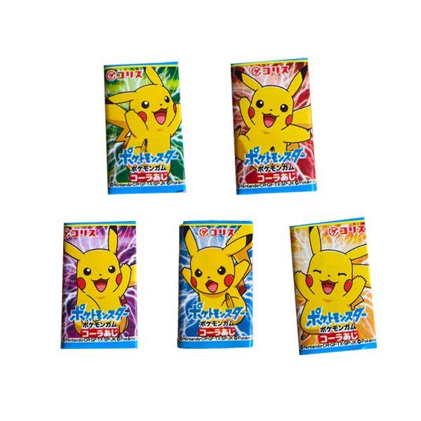 Chicle Pikachu Pokemon Coris Sabor Cola