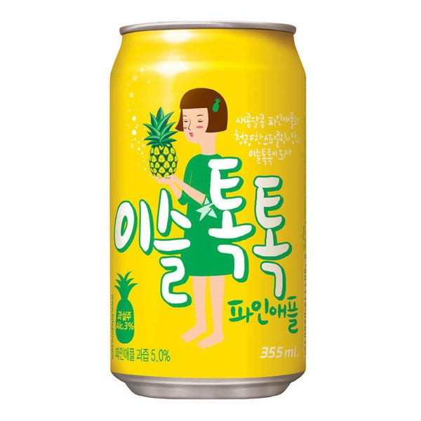 Refresco Tok Tok Sabor Piña (con alcohol)
