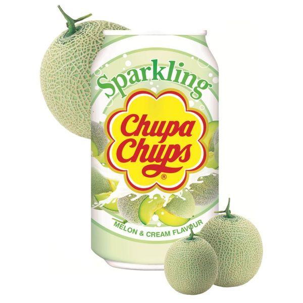 Chupa Chups Sparkling Melon Soft Drink