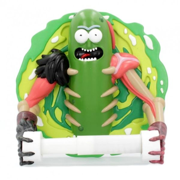 Porta Rollos Pickle Rick Rick & Morty