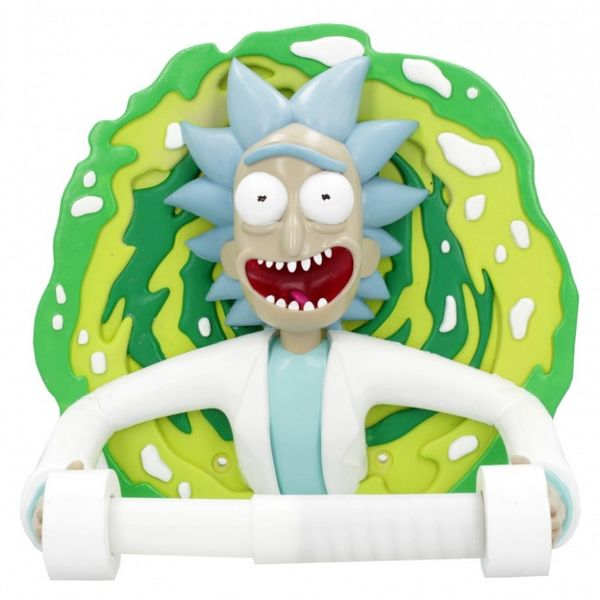 Rick Toilet Roll Holder Rick & Morty