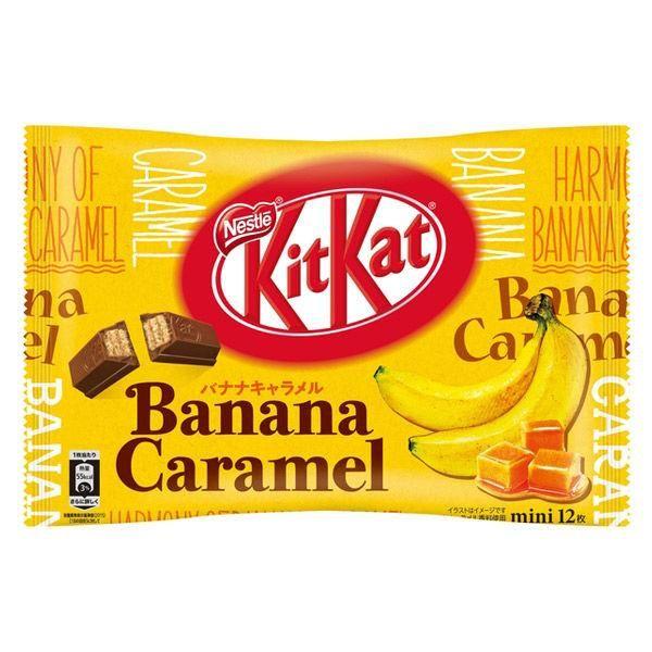 Bolsa de Kit Kat Mini sabor Banana y Caramelo
