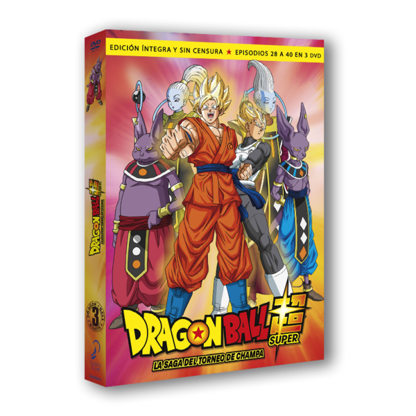 Dragon Ball Super Box 3 DVD