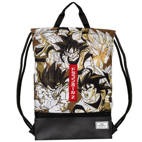 Gym Bag with Handles Son Goku Vintage Dragon Ball Z