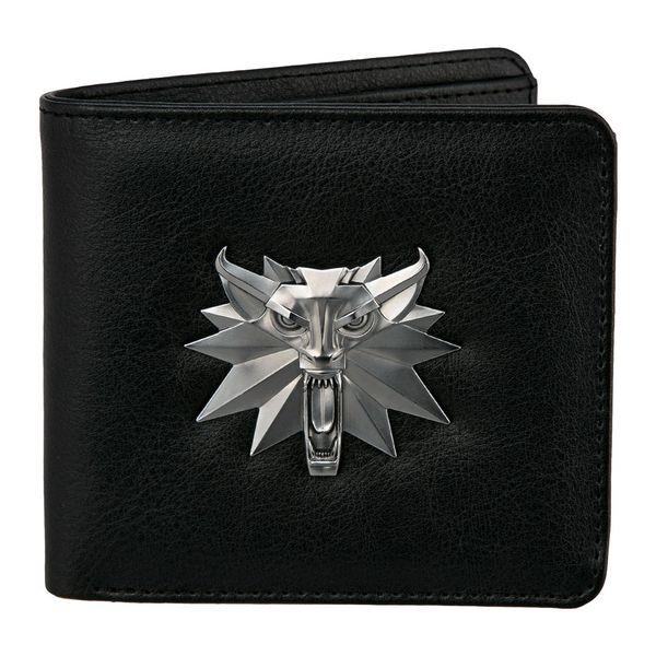 White Wolf The Witcher 3 Wild Hun Bifold Wallet