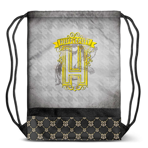 Bolsa Gym Hufflepuff Harry Potter
