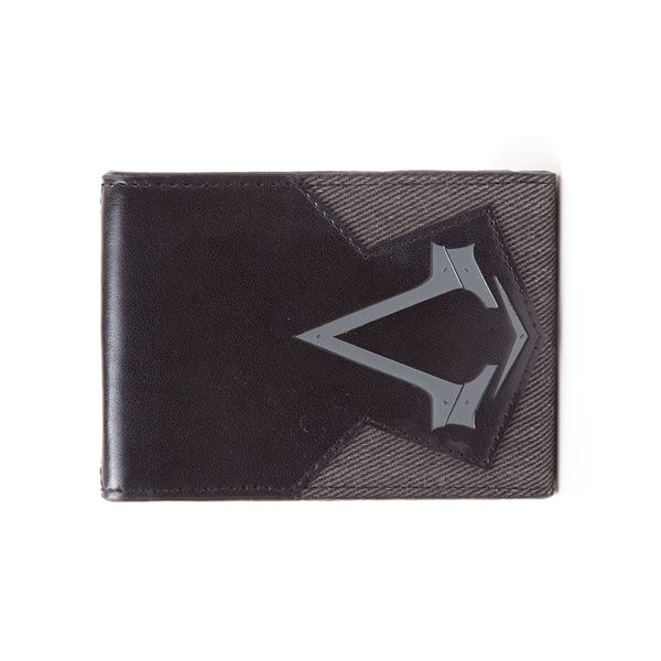 Assassin's Creed Syndicate Wallet Grey Logo