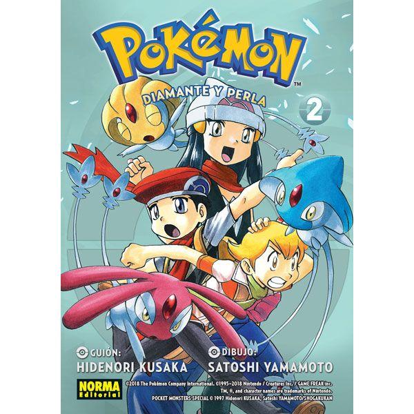 Pokemon - Diamante y Perla #02 Manga Oficial Norma Editorial