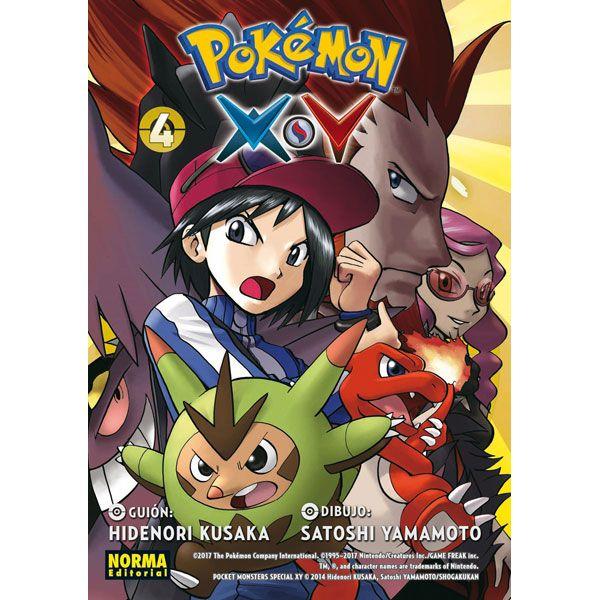 Pokemon X Y #04 Manga Oficial Norma Editorial