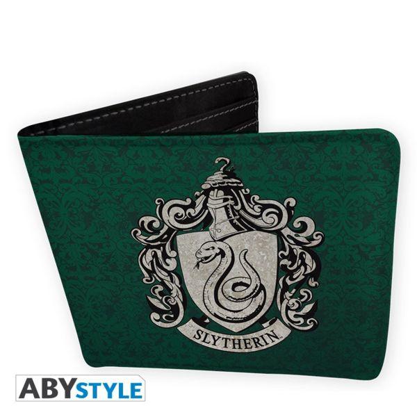 Cartera emblema Slytherin Harry Potter