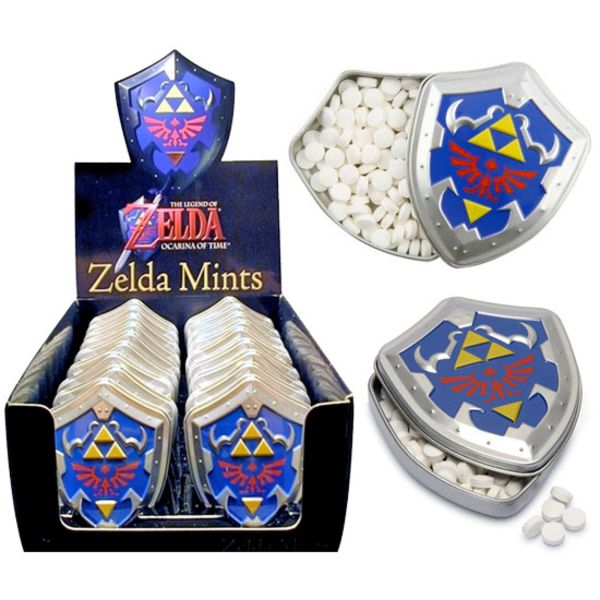 Caramelos Nintendo Zelda Hyrule Shield Mints candies