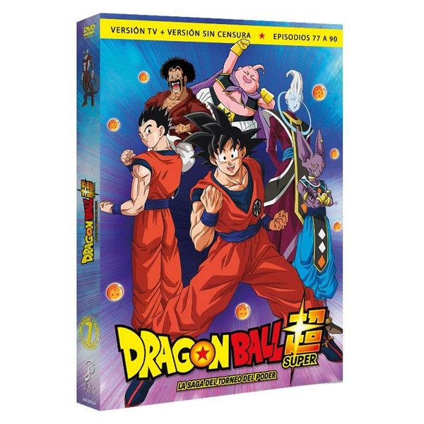 Box 7 Dragon Ball Super Episodes 77-90 DVD