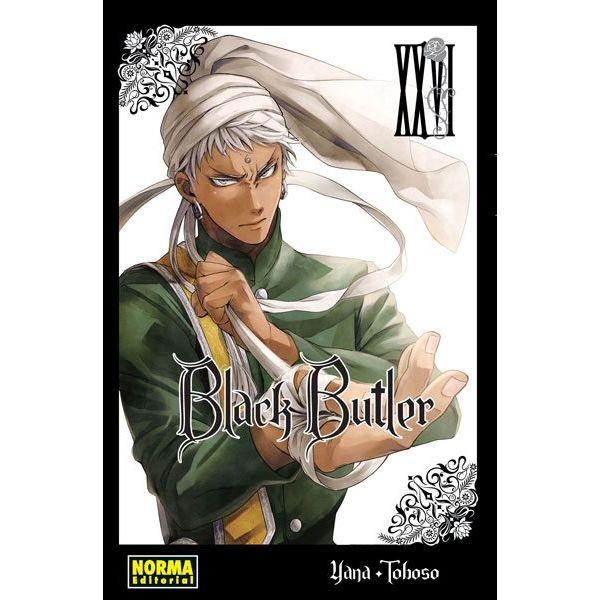 Black Butler #26 Manga Oficial Norma Editorial